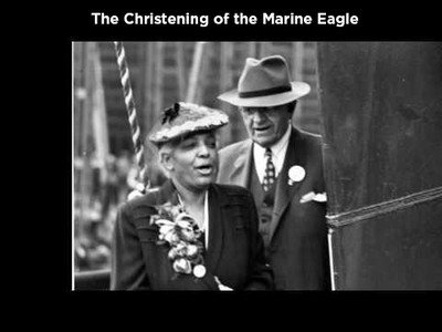 The Christening of the Marine Eagle