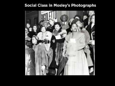 Social Class in Mosley's Photographs