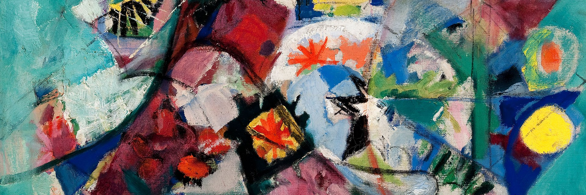 Abstract Bouquet, 1939, by Arthur B. Carles (Woodmere Art Museum: Partial museum purchase and partial gift of Frederica and Howard Wagman, 2011)