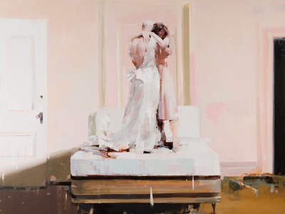 Hotel, 2008, by Alex Kanevsky (Collection of John and Judy Cacciola)