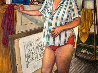 Self-Portrait, 1989 (Woodmere Art Museum: Gift of Bill Scott, 2011)