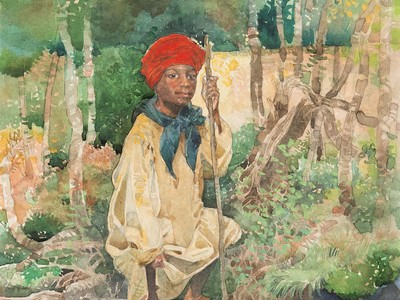 This Is My Chance to Run Away, from Minty: A Story of Young Harriet Tubman, 1996 (Courtesy of the artist)