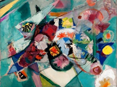 Abstract Bouquet by Arthur B. Carles (1939), Partial museum purchase and partial gift of Frederica and Howard Wagman, 2011
