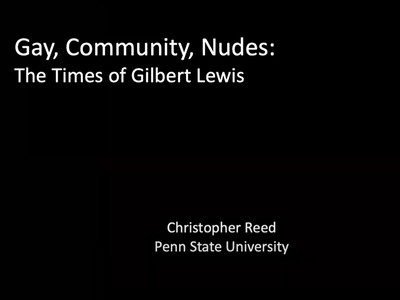 Online Lecture with Christopher Reed
