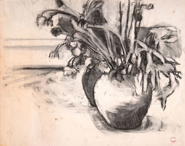 Flowers In A Vase Woodmere Art Museum