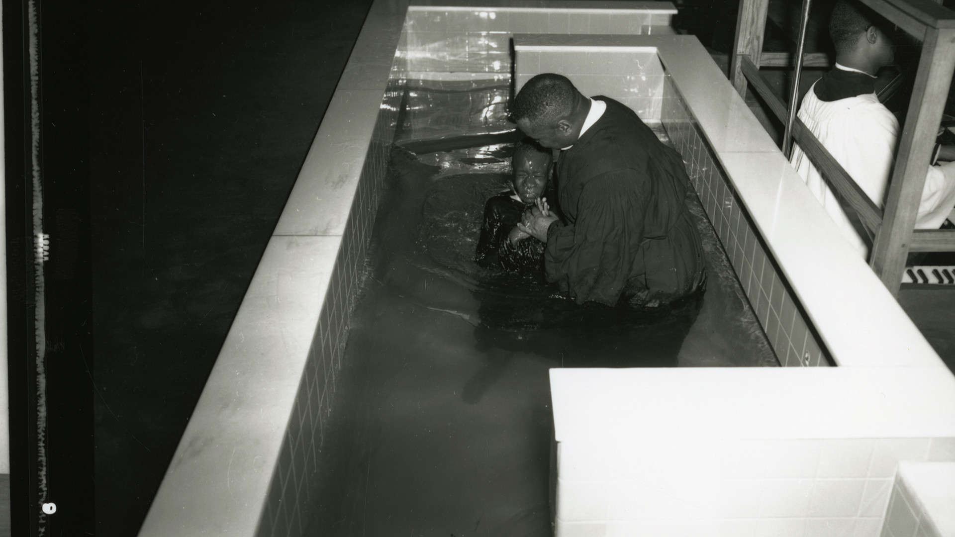 Baptism performed by Reverend Marshall L. Shepard, Sr., past...