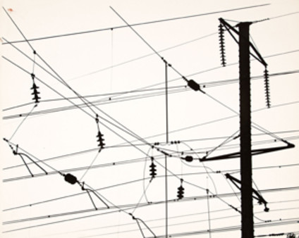Untitled (Power Line, 30th St. Station)