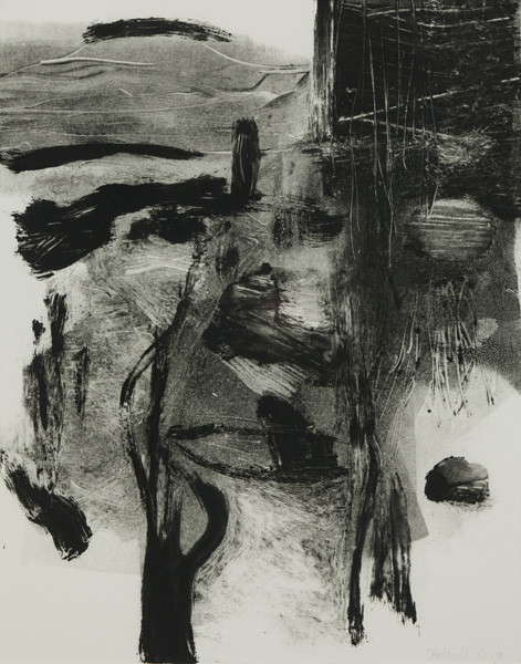 Jan Baltzell: Untitled (1990) Monotype