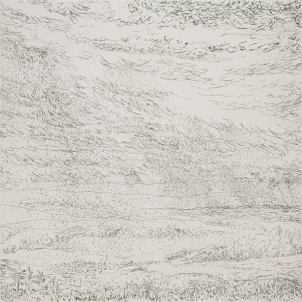 Emily Brown: In Memory (2008) Line etching