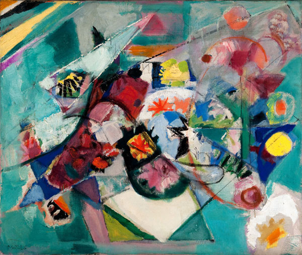 Arthur B. Carles: Abstract Bouquet (1939) Oil on canvas