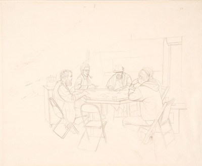 Untitled (Poker Game)