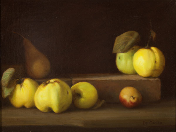 Arthur De Costa: Yellow Quince (Undated) Oil on canvas