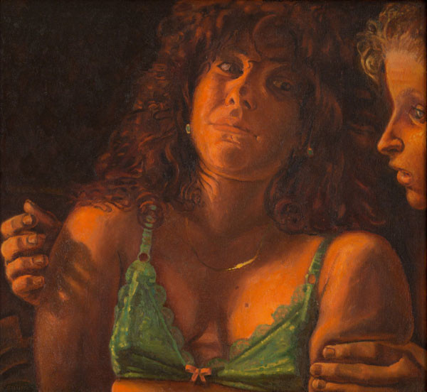 Frank Galuszka: Friends (1982-1983) Oil on canvas