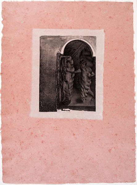 Anthony Peter Gorny: Doubt in Thomas (1981) Litho lamination on artist-made paper