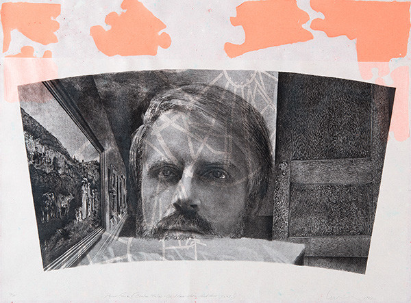 Anthony Peter Gorny: Paperface (1982) Lithography