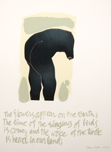 Samuel Maitin: The Flowers Appear on the Earth.... () Serigraph