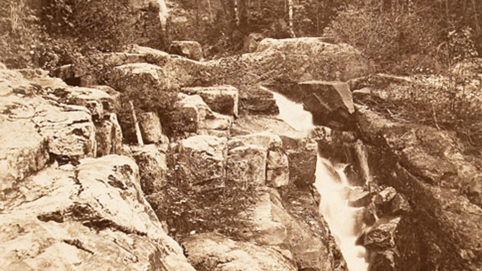 Silver Cascade, Crawford's Notch