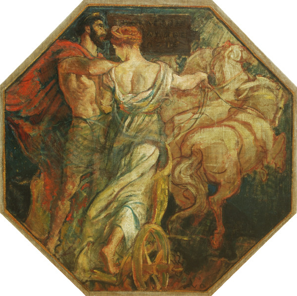 Violet Oakley: Apotheosis of Hercules (1910-1911) Oil on canvas