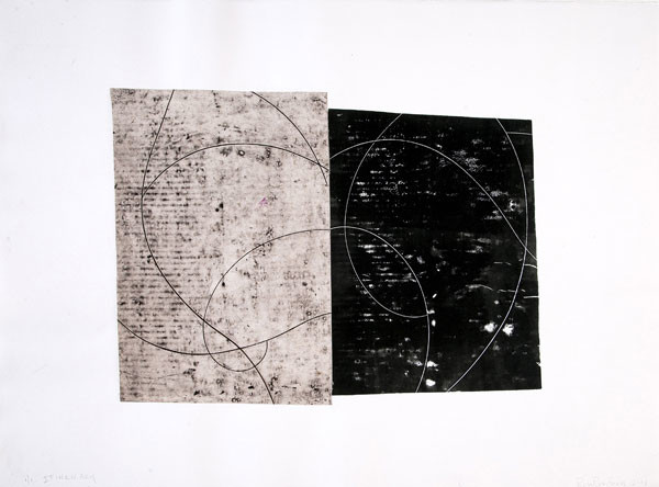 Ron Rumford: Itinerary (2001) Engraving and relief