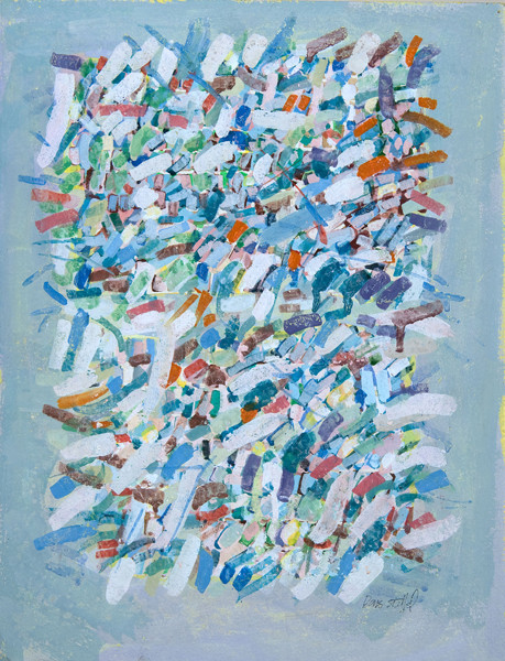 Doris Staffel: Untitled (c. 1979) Gouache on paper
