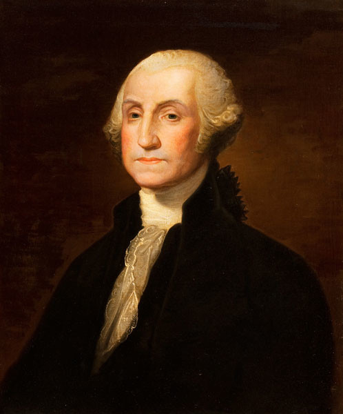 Gilbert Stuart (copy after): George Washington (Undated) Oil on canvas