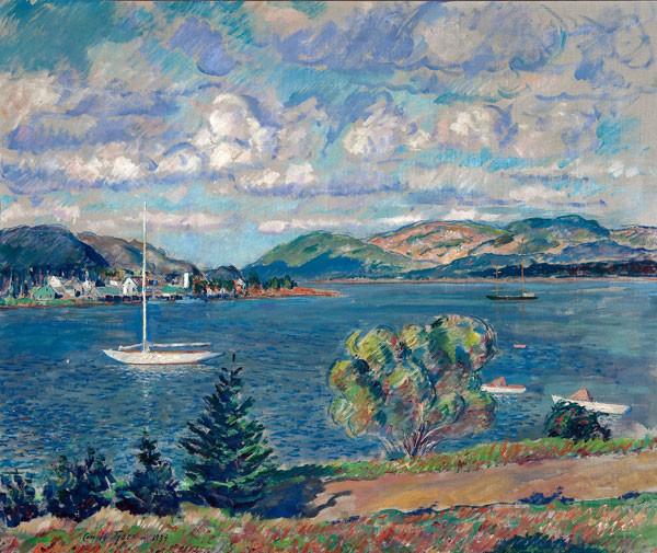 Carroll S. Tyson, Jr.: The Mouth of Somes Sound (1939) Oil on canvas