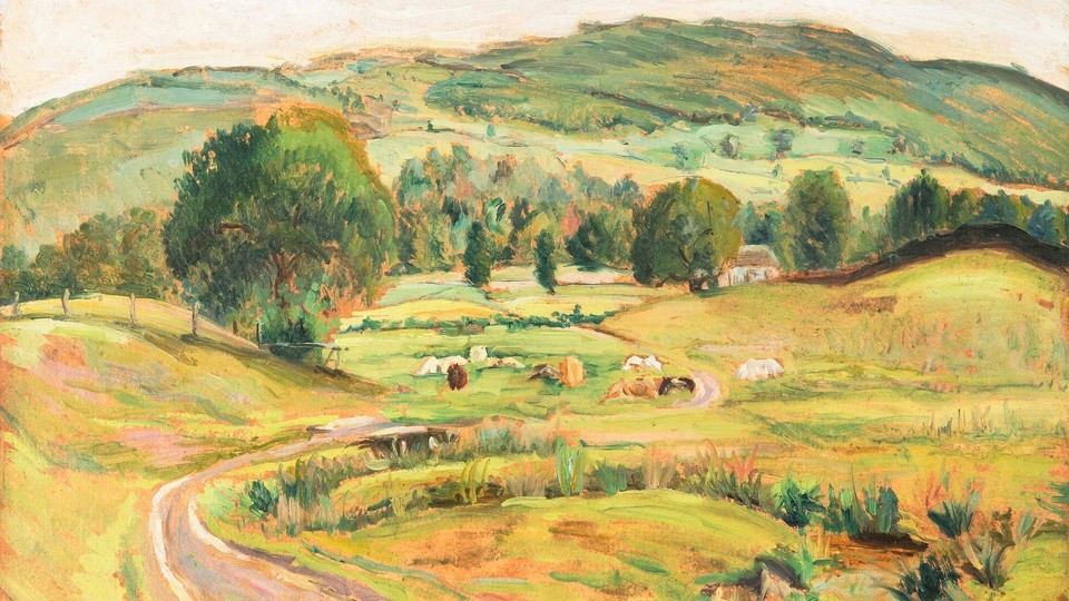 Farm in a Valley