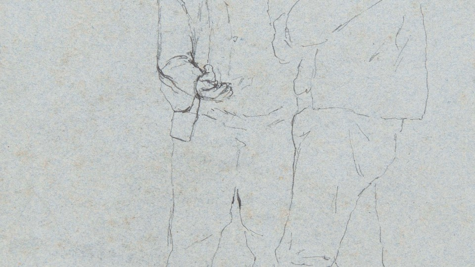 Study of Two Standing Brenton Males