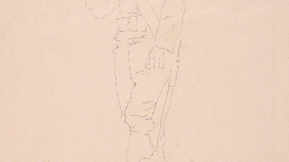Study of a French Musketeer in Clogs