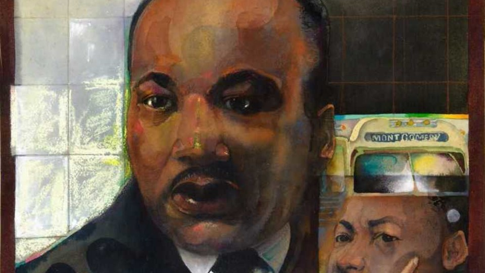 Jerry Pinkney: Martin Luther King, Jr. and Great American Heroes