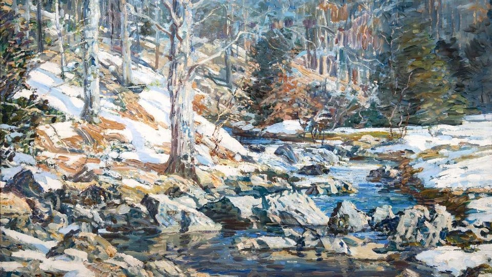 Schofield's Wissahickon in Winter and Other Gifts from the Phillips Schofield Family