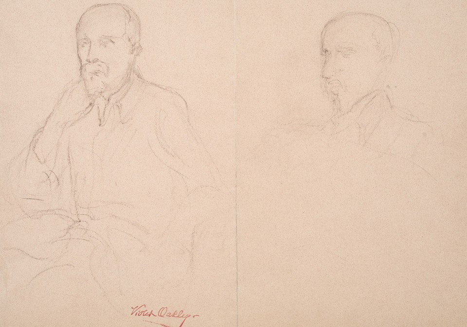 Portrait studies of Tomáš Garrigue Masaryk, President of Cze ... Image 1