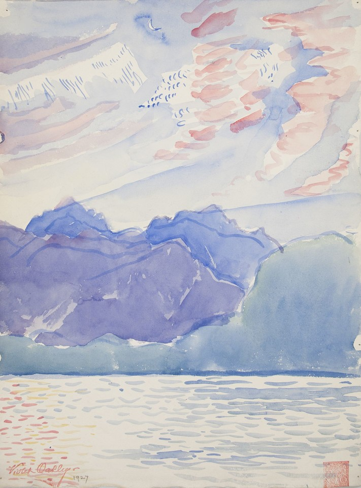 Study of Lake Geneva Image 1
