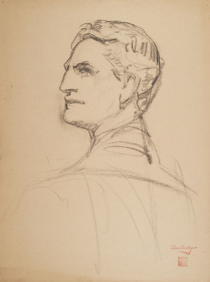 Portrait study of William I. Hull (1868-1939) Image 1