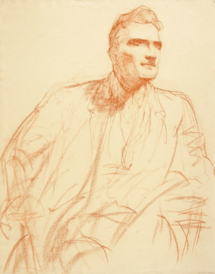 Portrait study of William I. Hull Image 1