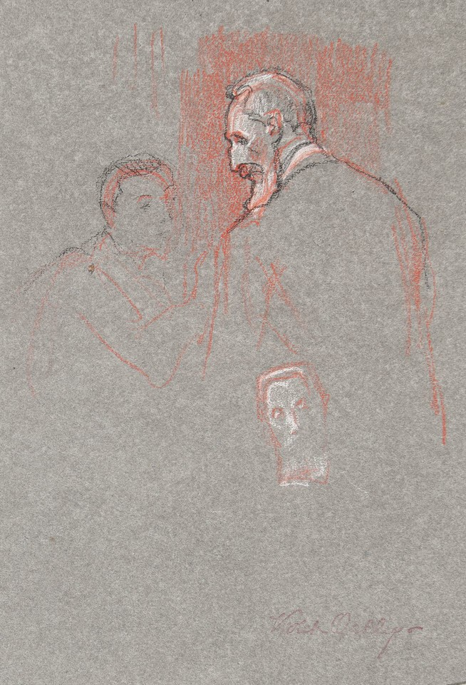 Portrait studies of Count Albert Apponyi, delegate from Hung ... Image 1