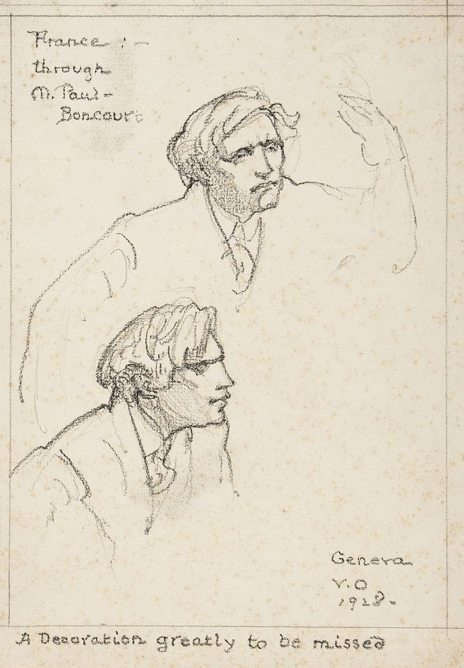 Bust portraits of Joseph Paul-Boncour  Image 1