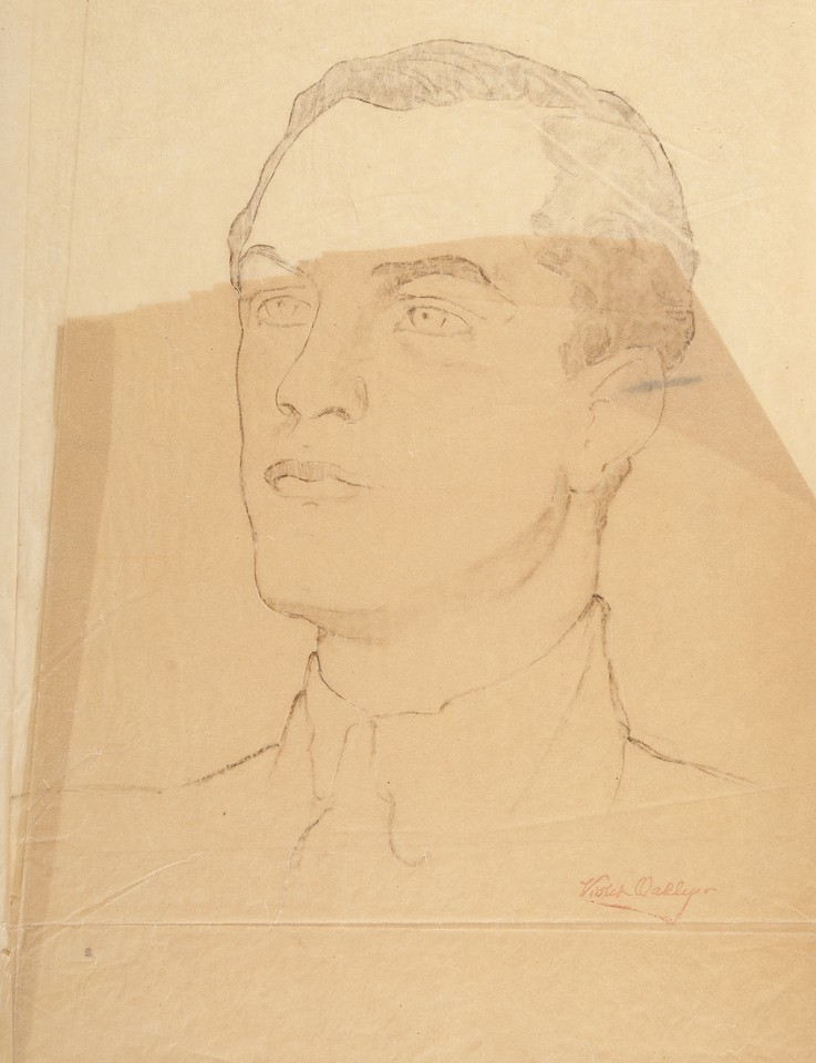 Portrait study of Hjalmar J. Procope, delegate from Findland ... Image 1