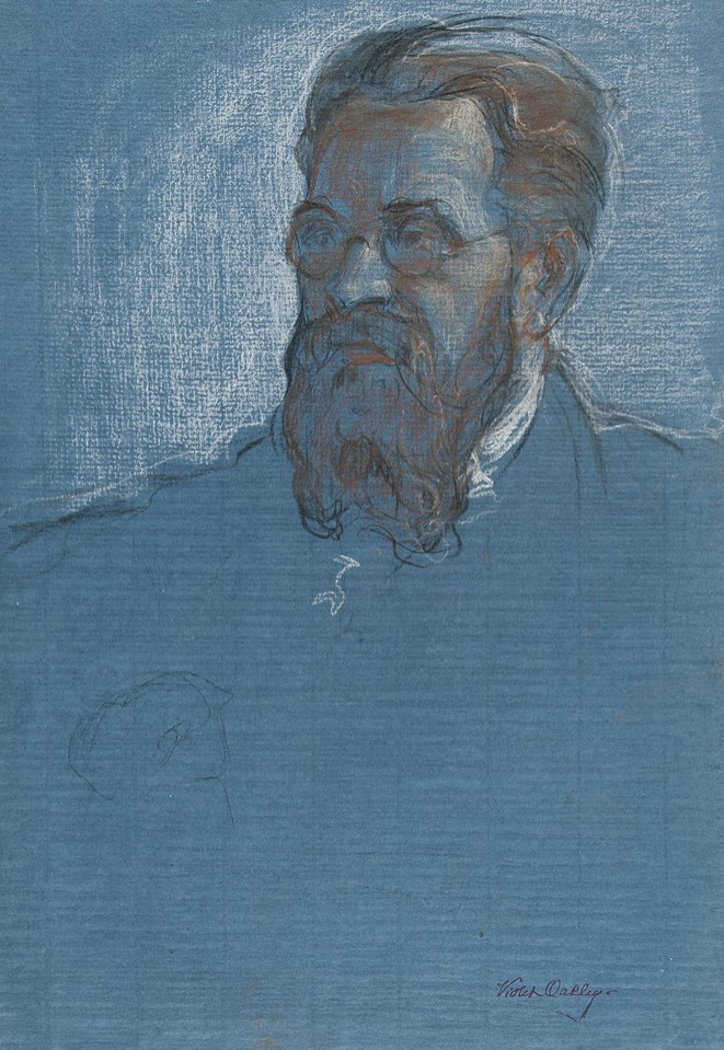 Portrait study of Albert Thomas, Director of the Internation ... Image 1