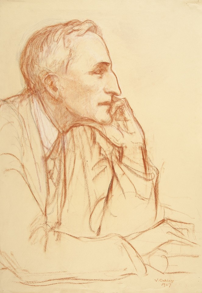 Portrait study of Sir Cecil James Barrington Hurst, delegate ... Image 1