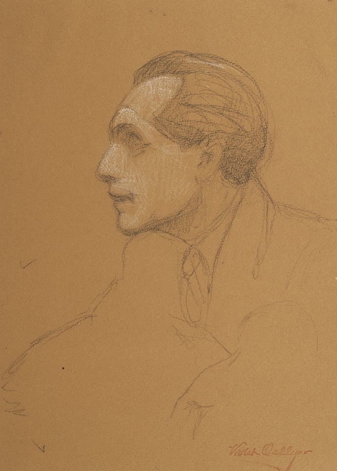 Portrait study of Philip J. Noel-Baker, delegate from the Un ... Image 1