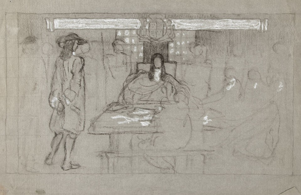 "Study for ""Examination before the Lieutenant of the Tower of ... Image 1"