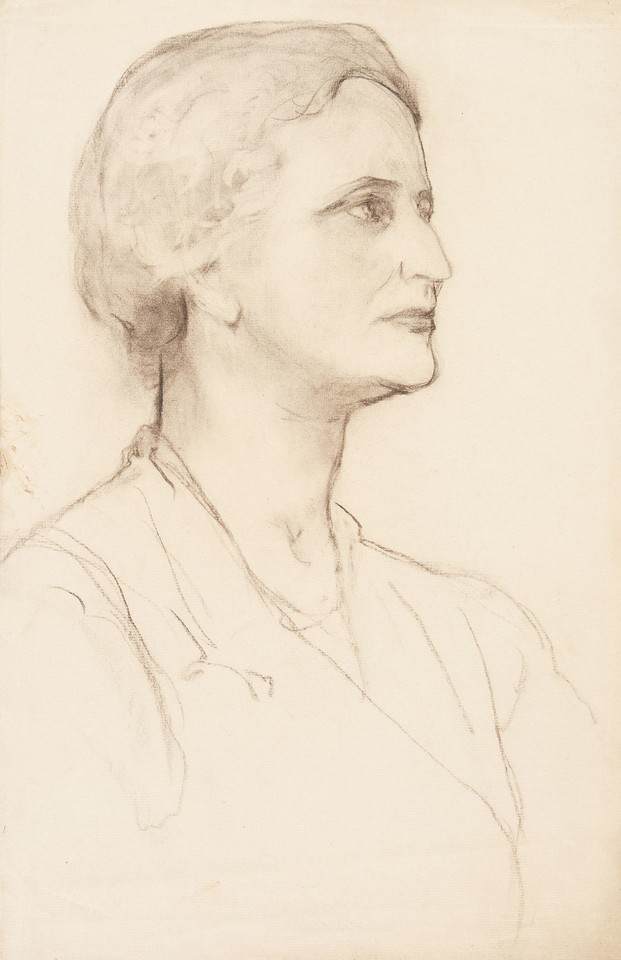 Portrait study of Louise Lawrence Meigs Image 1