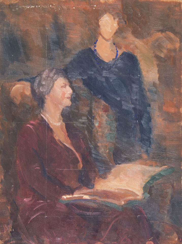 Portrait study of Louise Lawrence and Hester Oakley Meigs Image 1