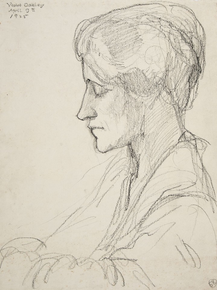 Portrait study of Edith Emerson Image 1