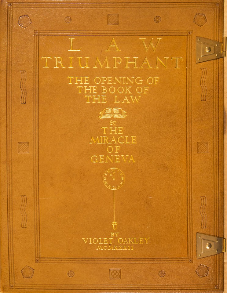 Law Triumphant: The Opening of the Book of the Law and the M ... Image 1