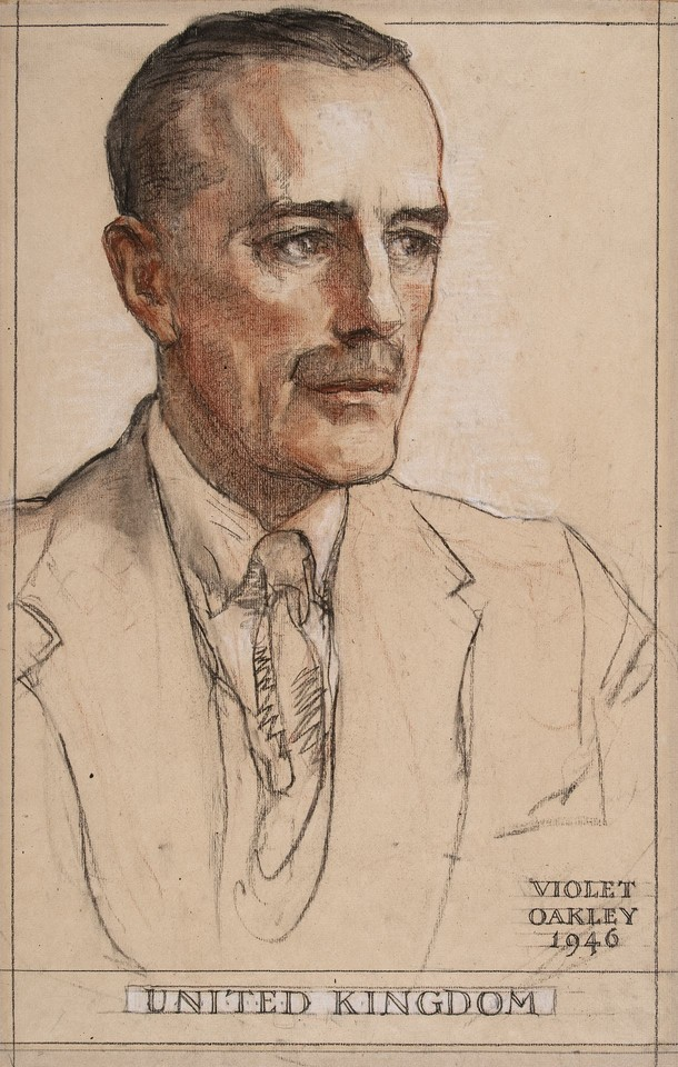 Sir Alexander Cadogan (1884–1968), Delegate from the United  ... Image 1