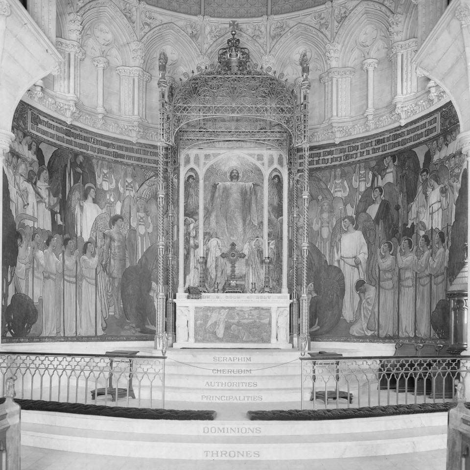 "All Angels Episcopal Church, ""The Heavenly Host,"" Chancel Mu ... Image 1"