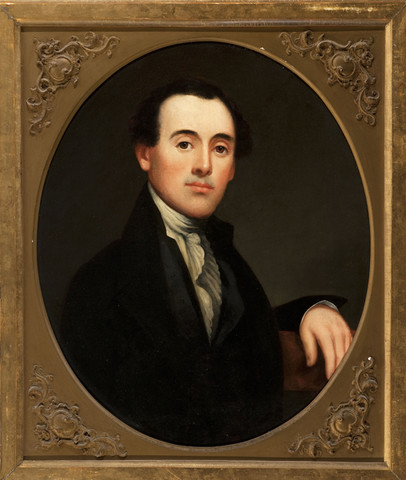 Thomas Birch: Portrait of an Actor (Undated) Oil on canvas