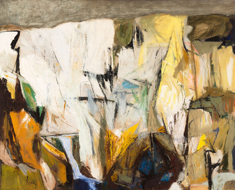 Larry Day: Landscape for St. John of the Cross (1955) Oil on canvas